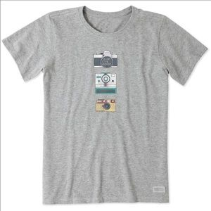 Life is Good Hobby Cameras Crusher Tee